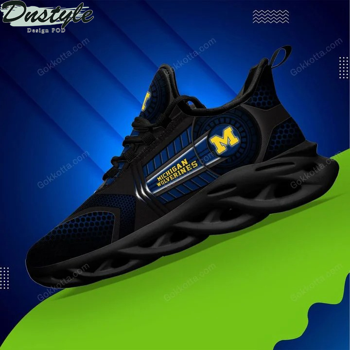 Michigan wolverines NCAA max soul shoes 3