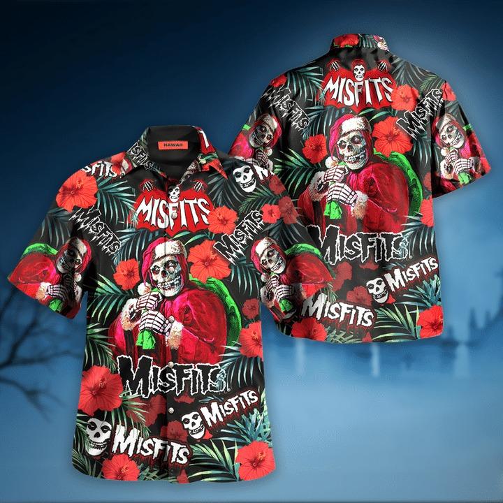 Misfits wants your skulls hawaiian shirt 2