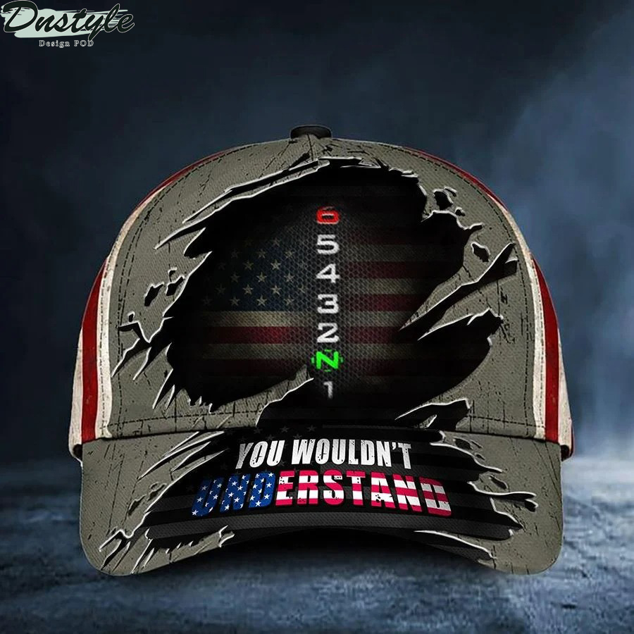 Motorcycle Rider 65432N1 you would't understand hat cap