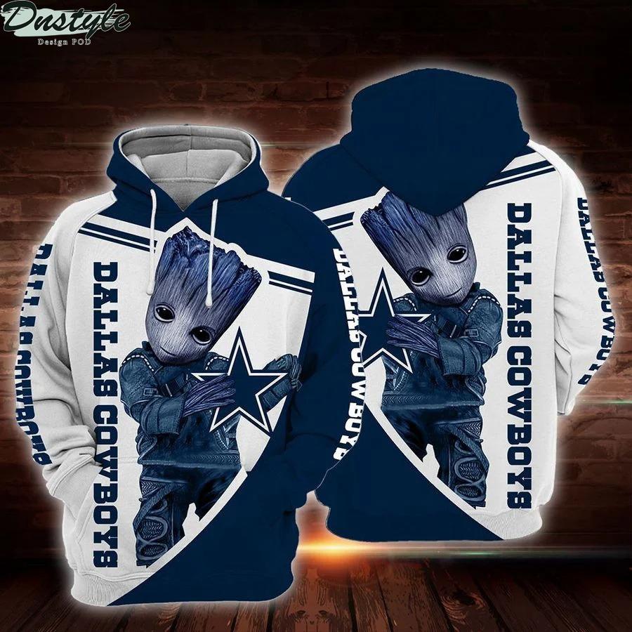 NFL Dallas cowboys Groot 3d full printed hoodie
