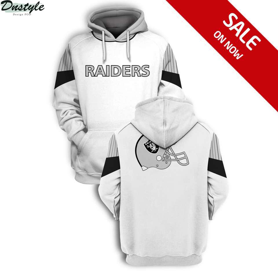 NFL Oakland Raiders 3d full printing hoodie