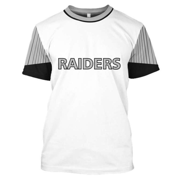 NFL Oakland Raiders 3d full printing shirt