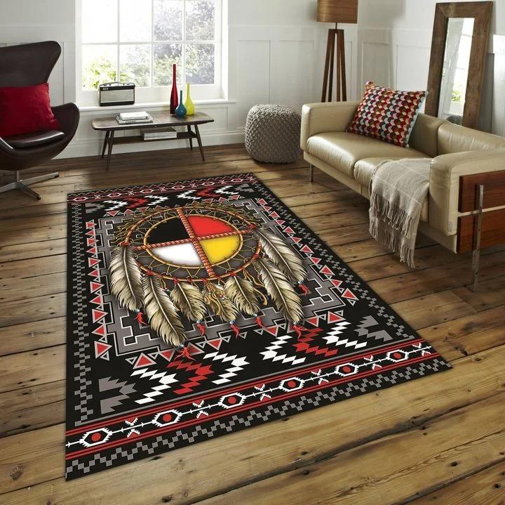 Native american rug carpet 1