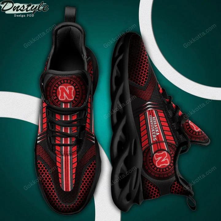 Nebraska cornhuskers NCAA max soul shoes 2