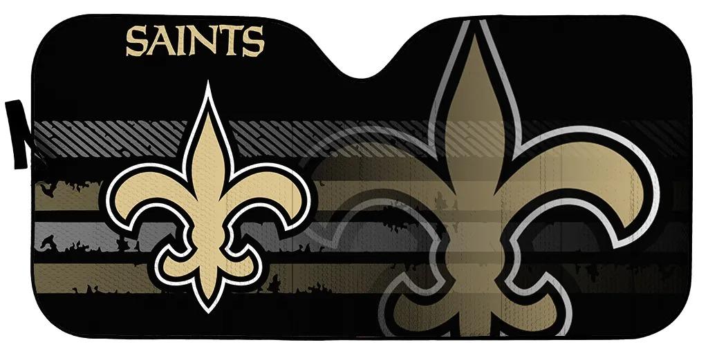 New Orleans Saints NFL car sunshade 1