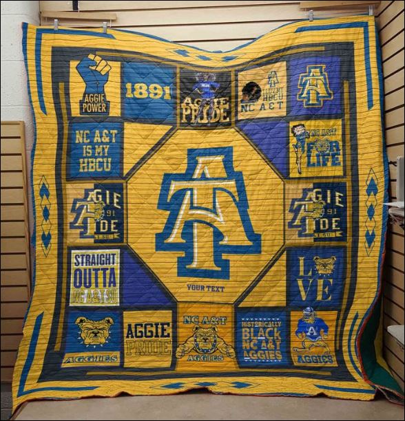 North Carolina A&T Aggies quilt