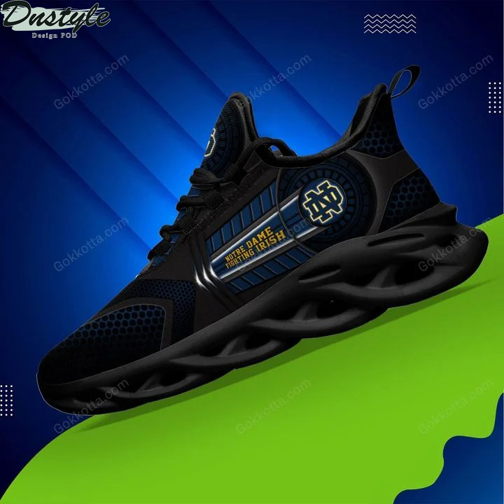 Notre dame fighting irish NCAA max soul shoes 3