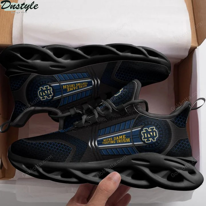 Notre dame fighting irish NCAA max soul shoes