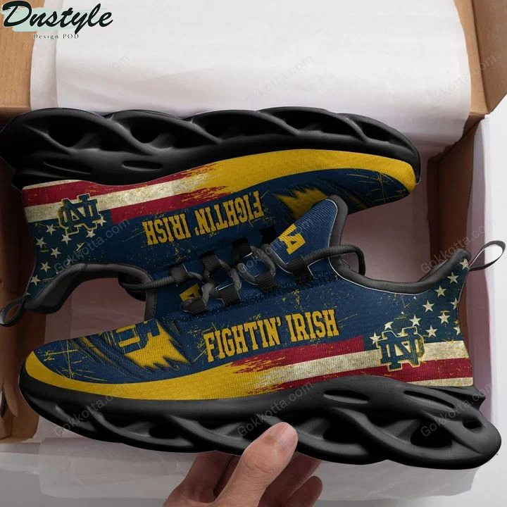 Notre dame fighting irish american max soul shoes 2