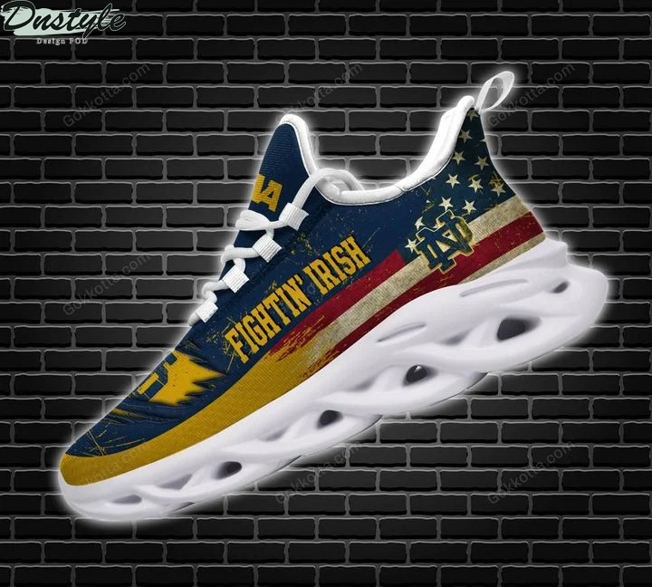 Notre dame fighting irish american max soul shoes 3