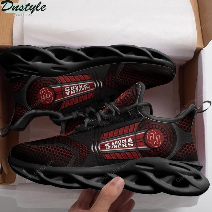 Oklahoma sooners NCAA max soul shoes