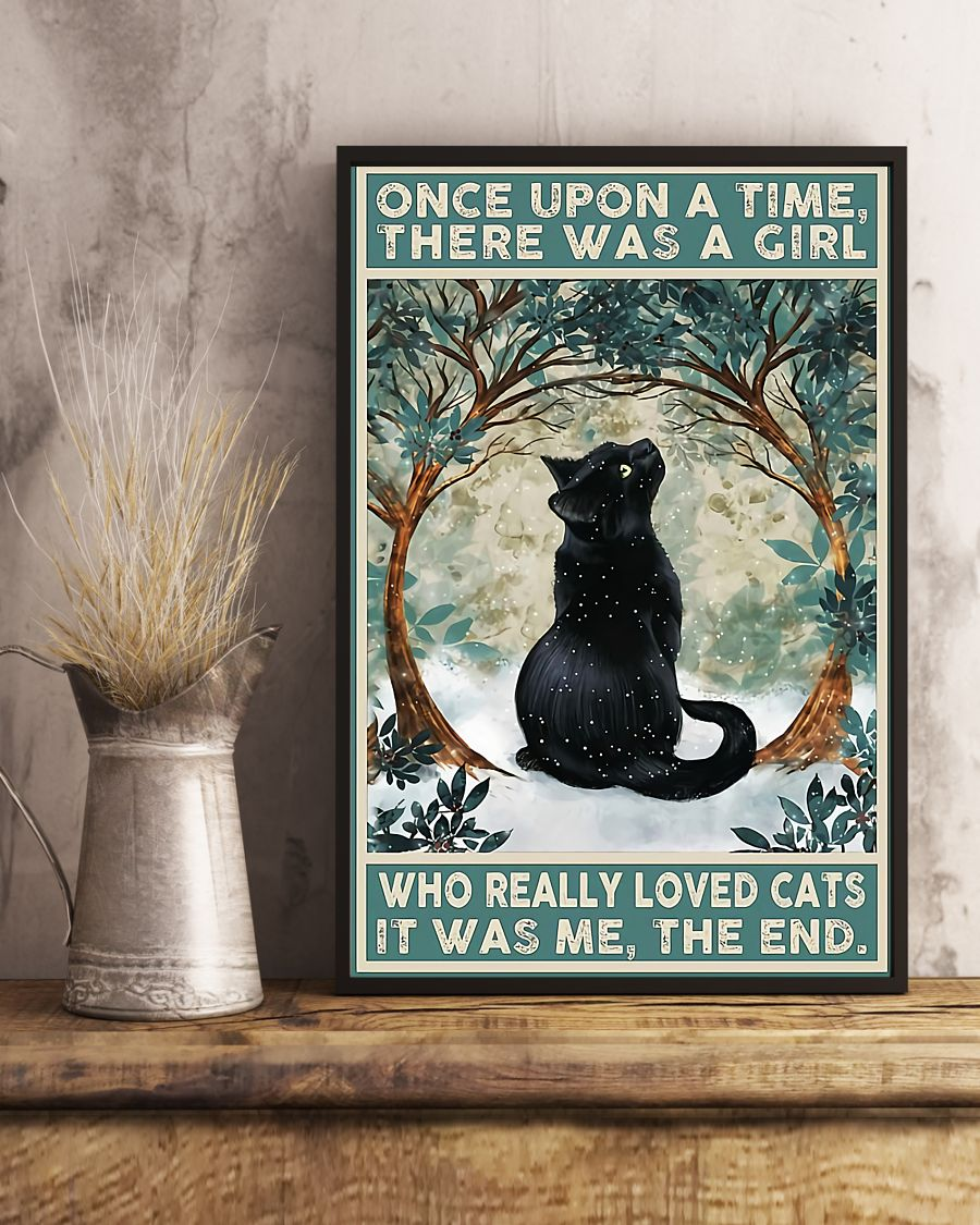 Once upon a time there was a girl who really loved cat it was me the end poster 1