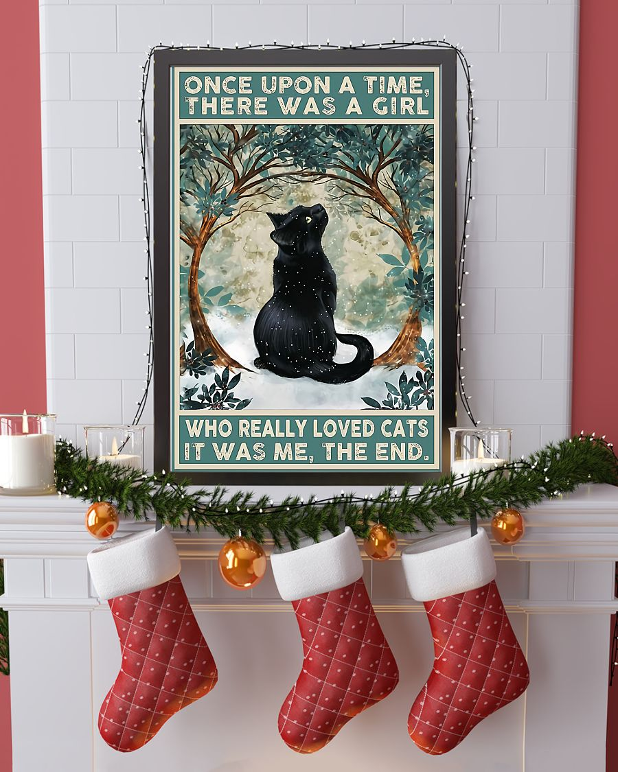 Once upon a time there was a girl who really loved cat it was me the end poster 2