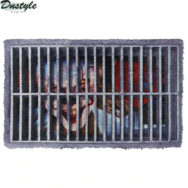 Pennywise IT sewer doormat