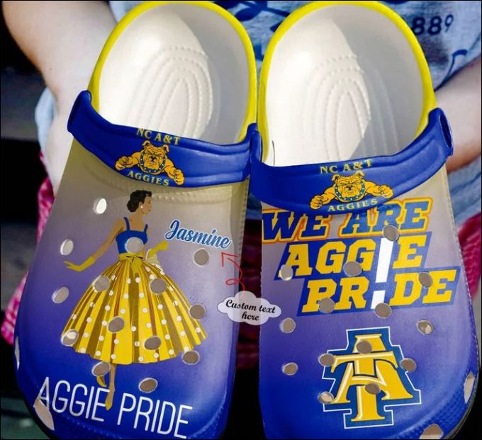 Personalized we are Aggie Pride crocs crocband