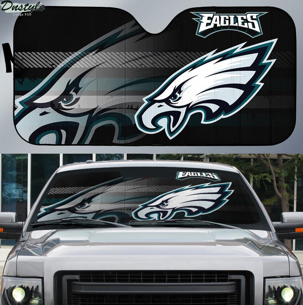 Philadelphia Eagles NFL car sunshade