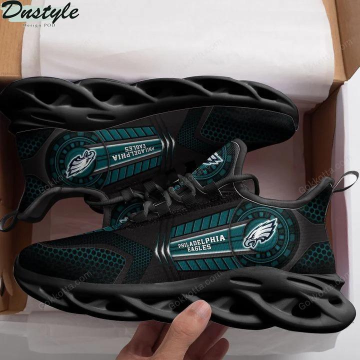 Philadelphia eagles NFL max soul shoes