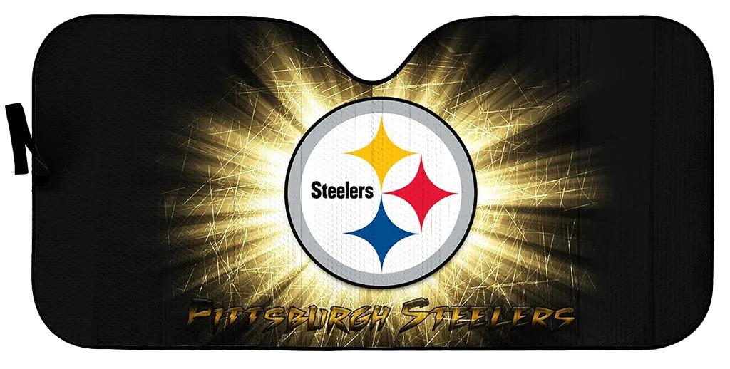Pittsburgh Steelers 1 NFL car sunshade 1