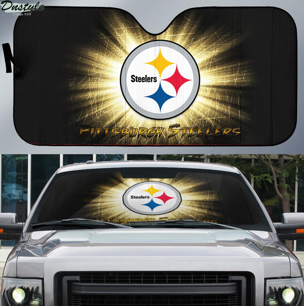 Pittsburgh Steelers 1 NFL car sunshade