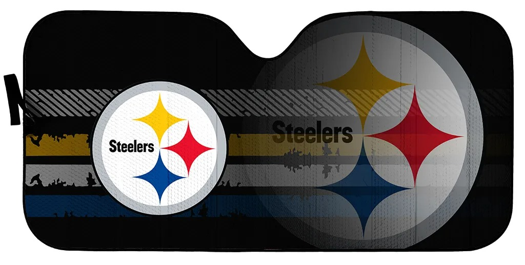 Pittsburgh Steelers NFL car sunshade 1
