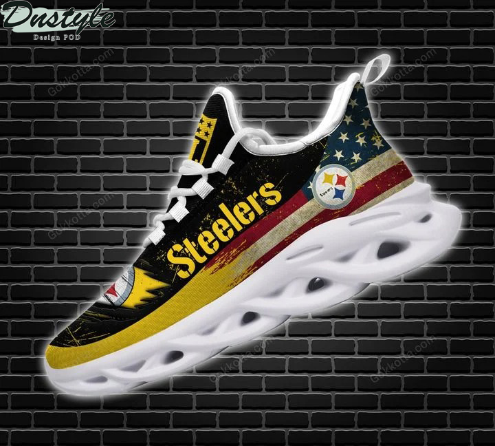 Pittsburgh Steelers NFL max soul shoes 1