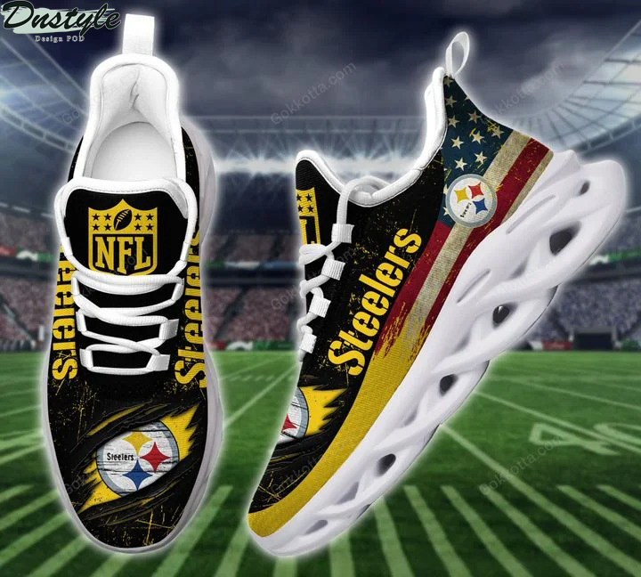 Pittsburgh Steelers NFL max soul shoes 2