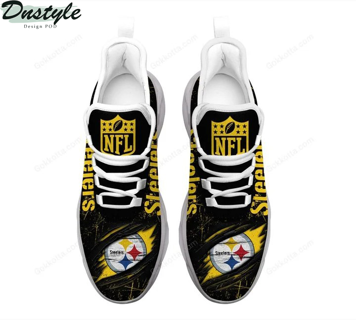 Pittsburgh Steelers NFL max soul shoes 3