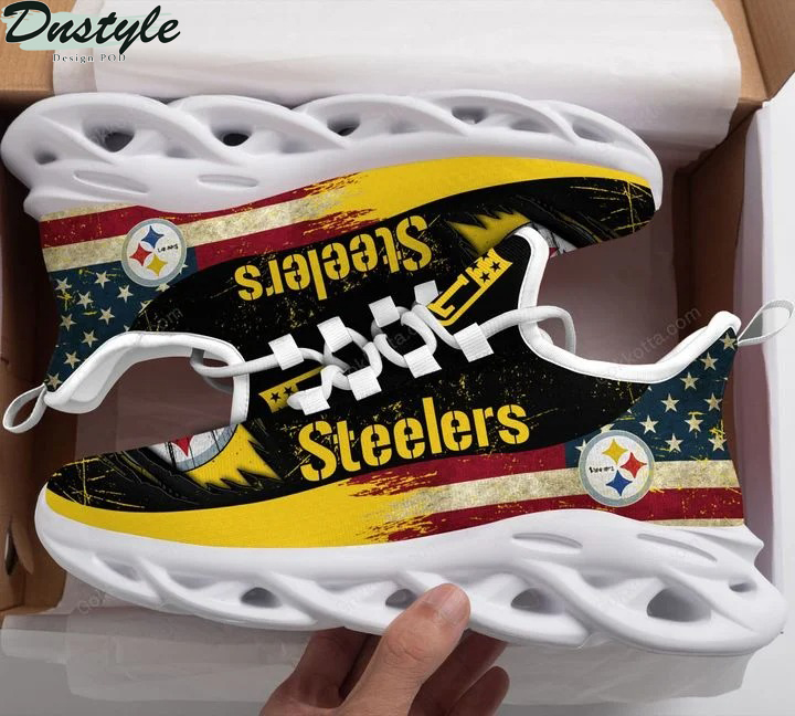 Pittsburgh Steelers NFL max soul shoes