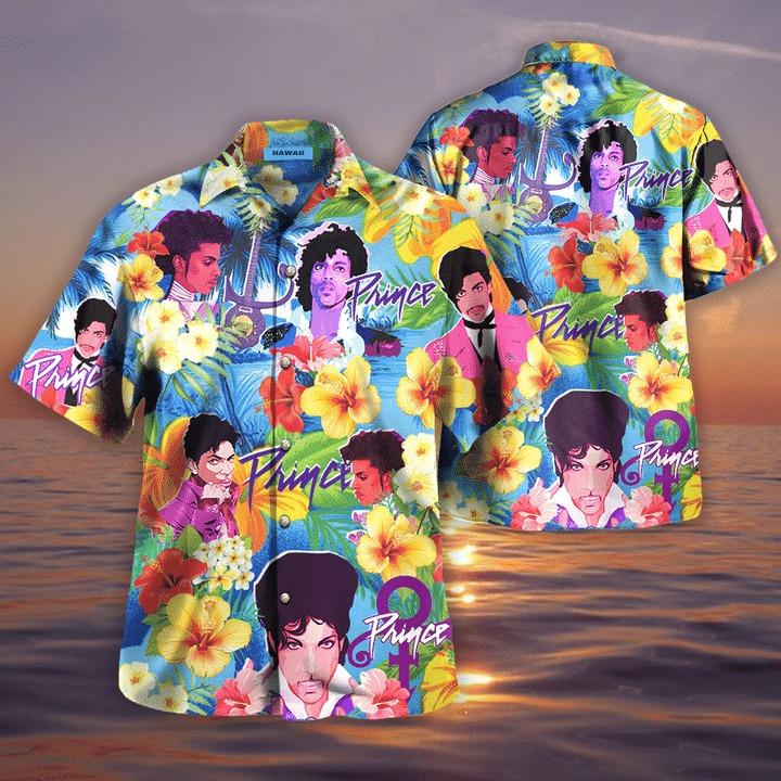 Prince hawaiian shirt 2