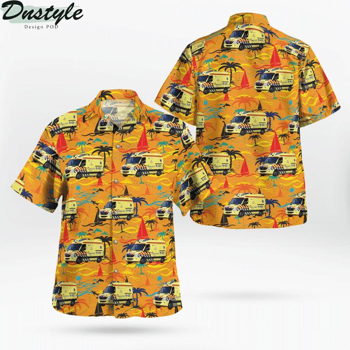 RAV haaglanden ambulance hawaiian shirt