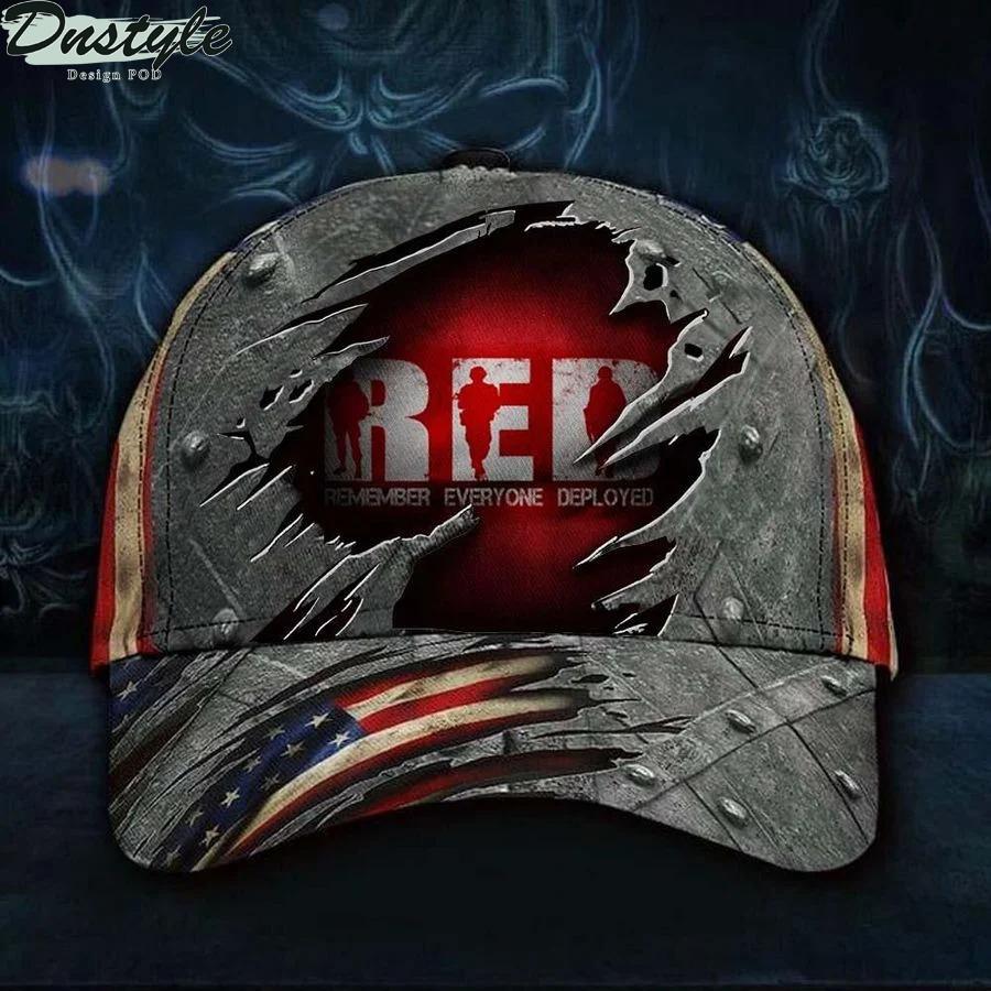 Remember Everyone Deployed Cap Military Hat
