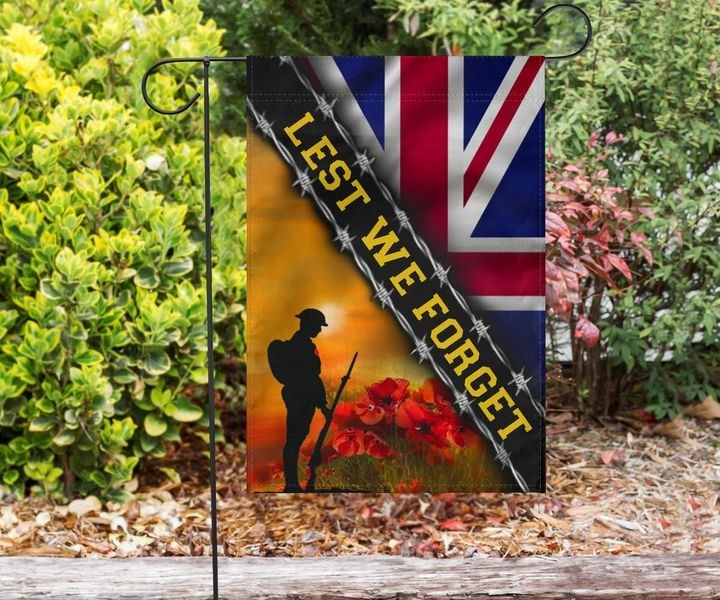 Remembrance Day British Soldiers United Kingdom Lest We Forget UK Flag 1