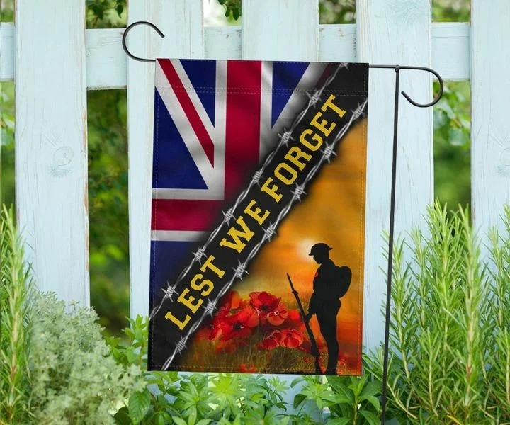 Remembrance Day British Soldiers United Kingdom Lest We Forget UK Flag 2