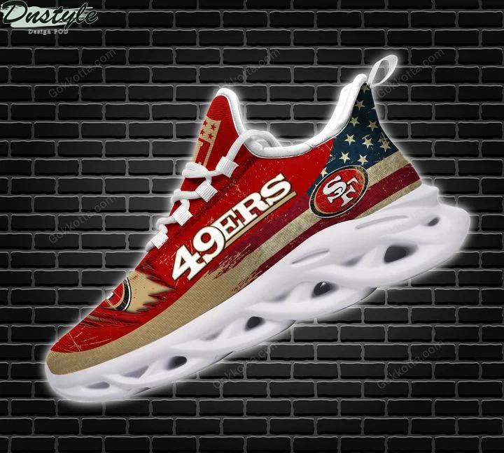 San francisco 49ers NFL max soul shoes 2