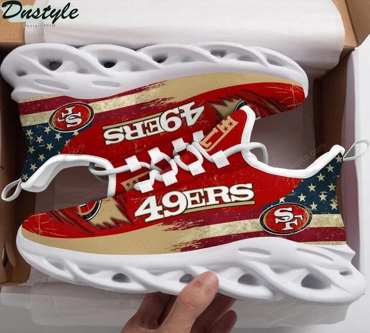San francisco 49ers NFL max soul shoes 3