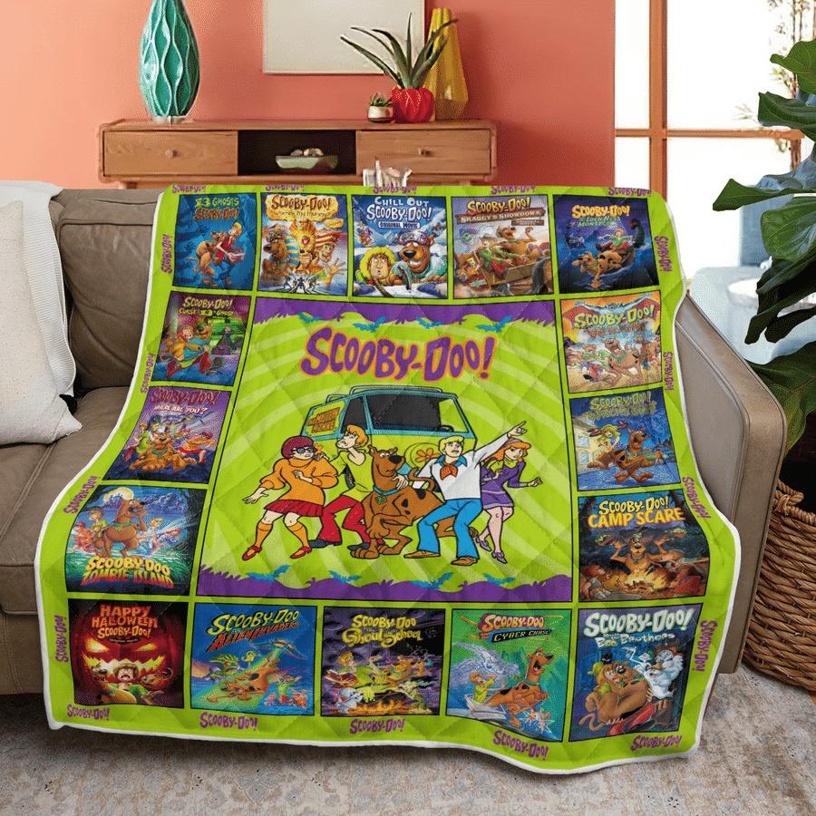 Scooby-doo quilt blanket 1