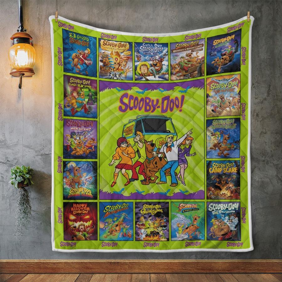 Scooby-doo quilt blanket 2