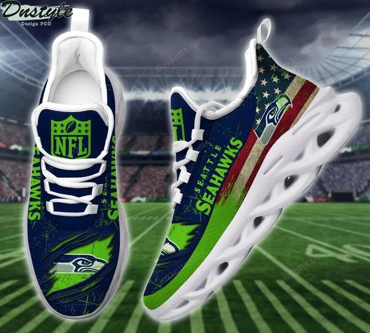 Seattle seahawks NFL max soul shoes