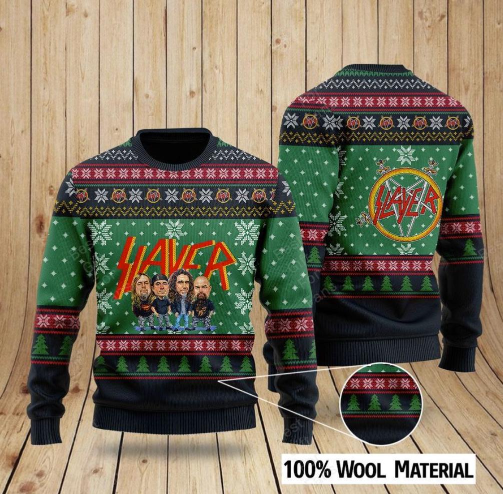Slayer ugly sweater