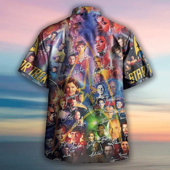 Star trek boldly go where no man has gone before hawaiian shirt 1