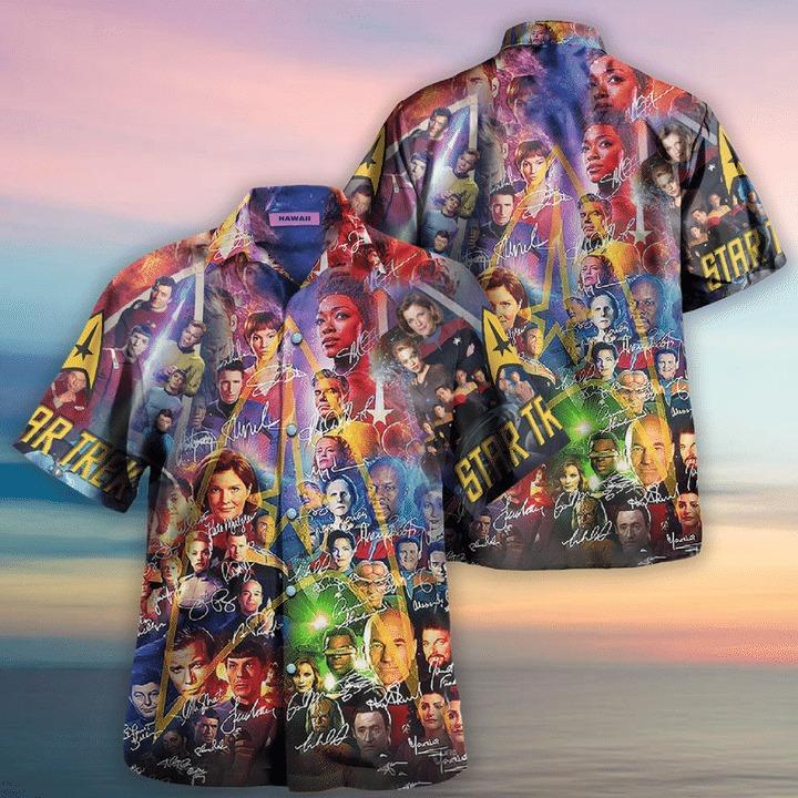 Star trek boldly go where no man has gone before hawaiian shirt 2