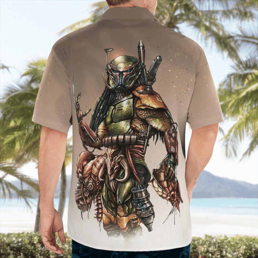 Star wars Boba Predator Hawaiian Shirt 2