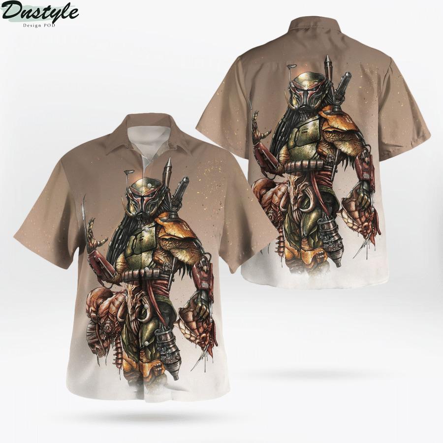 Star wars Boba Predator Hawaiian Shirt