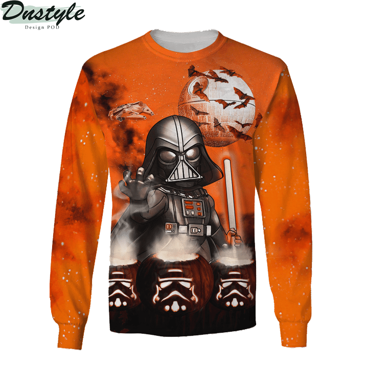 Star wars darth vader halloween night 3d printed hoodie and hawaiian shirt 1