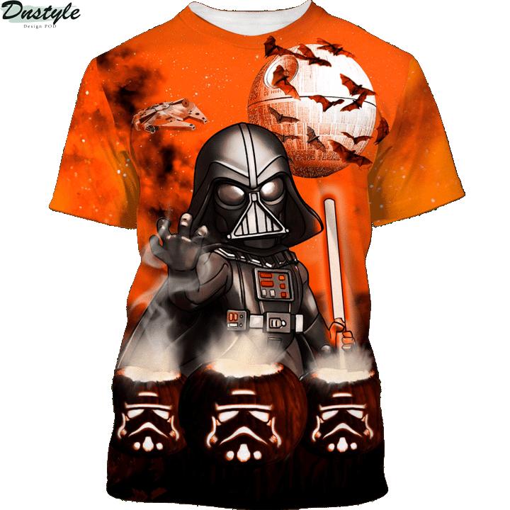 Star wars darth vader halloween night 3d printed hoodie and hawaiian shirt 2