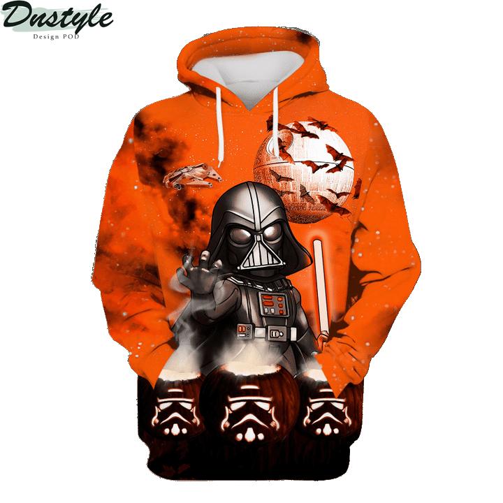 Star wars darth vader halloween night 3d printed hoodie and hawaiian shirt 4
