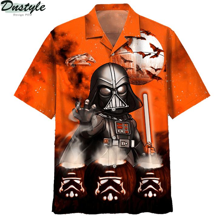 Star wars darth vader halloween night 3d printed hoodie and hawaiian shirt 5
