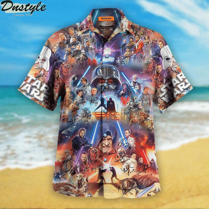 Star wars the power of the dark side unisex hawaiian shirt