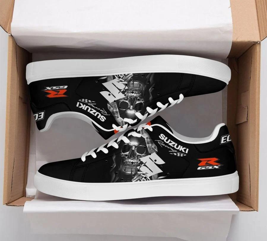 Suzuki racing stan smith low top shoes 3