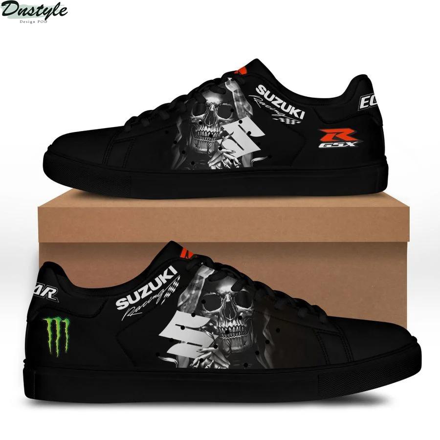 Suzuki racing stan smith low top shoes